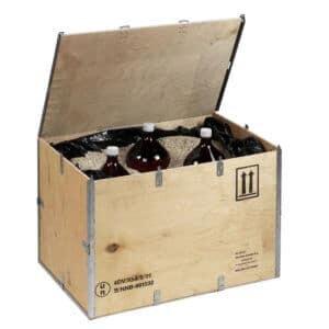 Kisten voor gevaarlijke producten EXBOX DG - NO-NAIL BOXES