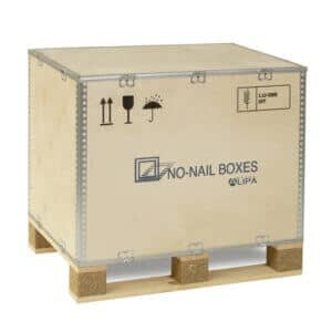Single-use boxes ISIBOX 66 - NO-NAIL BOXES