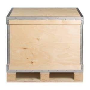 Caisse palette réutilisable RIBOX - NO-NAIL BOXES
