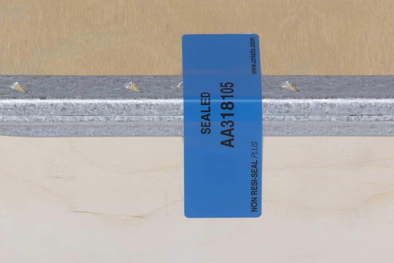 NO-NAIL BOXES: Anti-intrusion adhesive