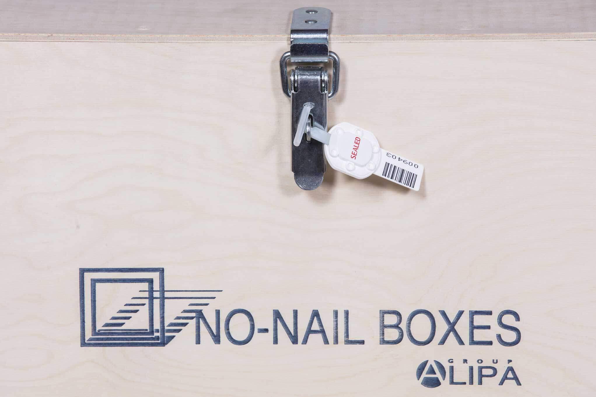 NO-NAIL BOXES: Barrel seals