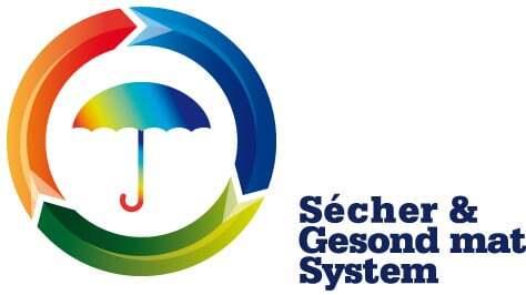 """Ook de certificering """"Sécher & Gesond mat System"""" waarover NO-NAIL BOXES sinds 2014 beschikt, is verlengd"""