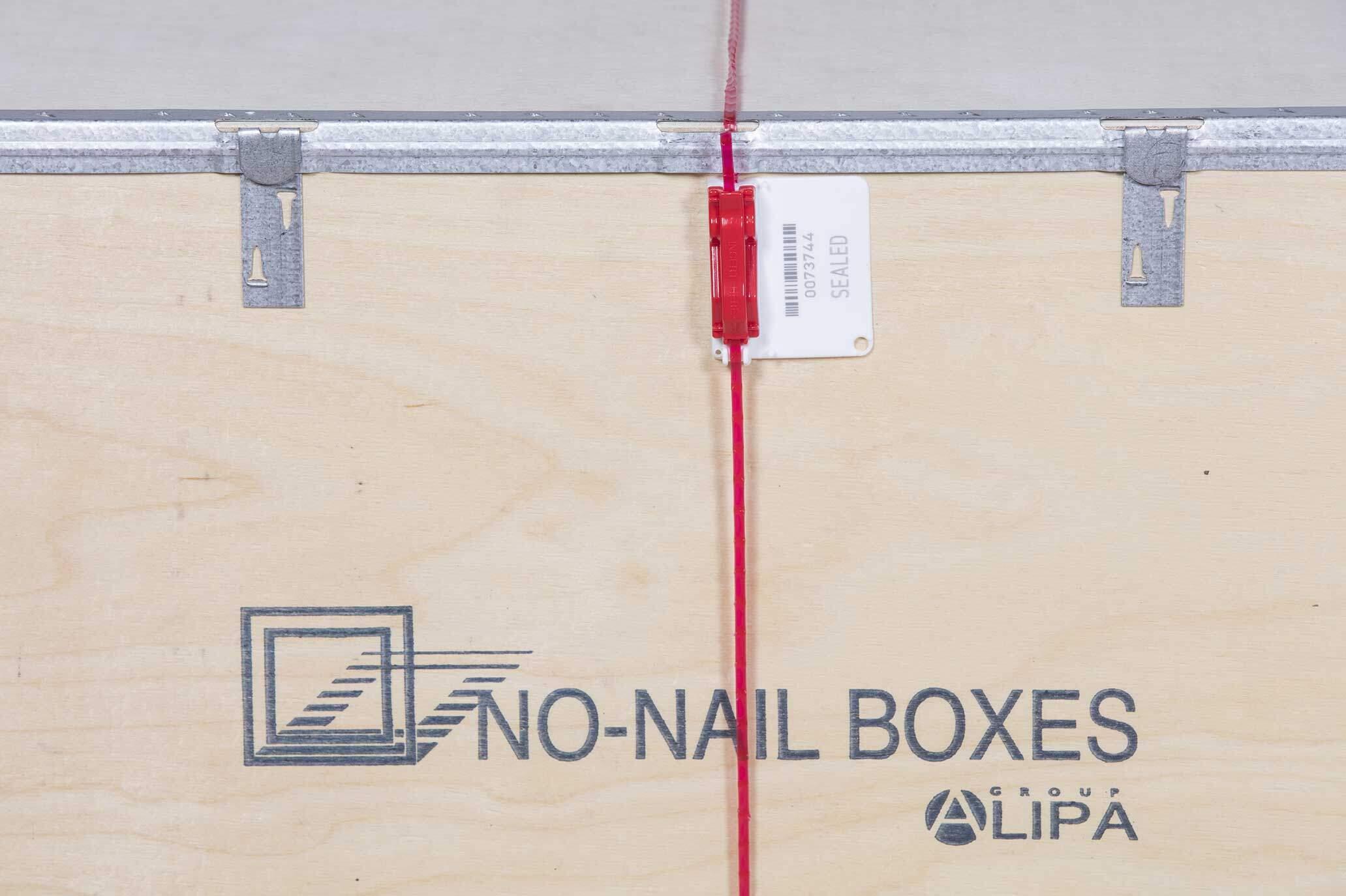 NO-NAIL BOXES: Verzegelen