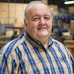 NO-NAIL BOXES: Yves PIRONT, Maintenance Leader