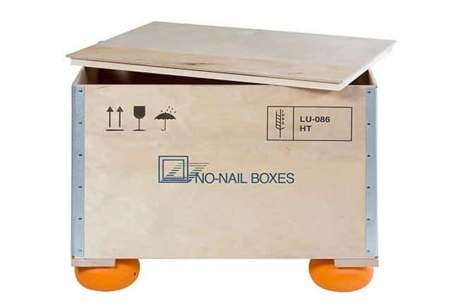 NO-NAIL BOXES: le plot qui absorbe les chocs
