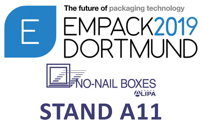 NO-NAIL BOXES: Zu 100 % wiederverwertbare Verpackungen auf der EMPACK-Messe in Dortmund