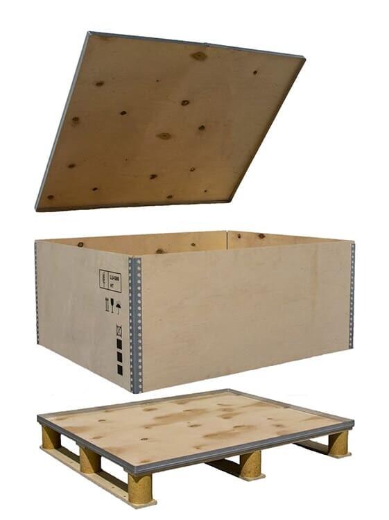 NO-NAIL BOXES: Een specifieke oplossing die tegemoet komt aan de verwachtingen