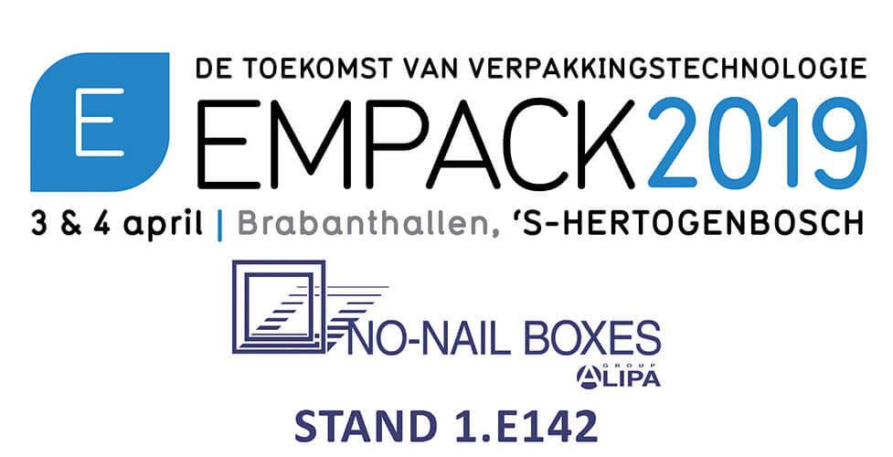 NO-NAIL BOXES op de EMPACK-beurs in 's-Hertogenbosch
