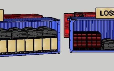 Eine 2-in-1-Lösung für Verpackungs- und Logistikunternehmen: Faltkisten mit denen Sie Platz sparen