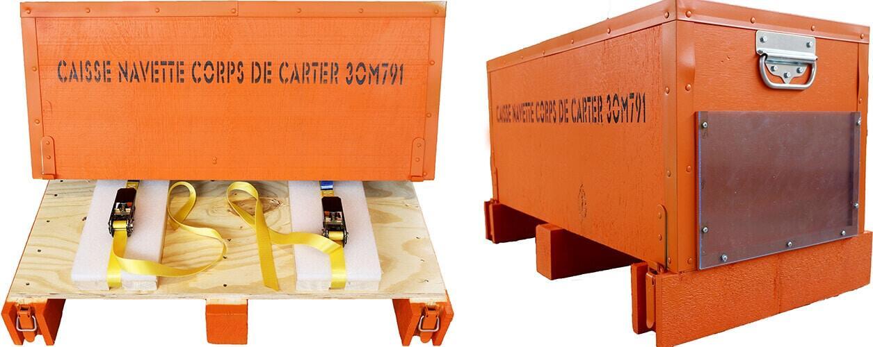 Leichte, maßgefertigte und ergonomische Verpackungen