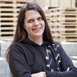 NO-NAIL BOXES: Pascale Weber - customer service
