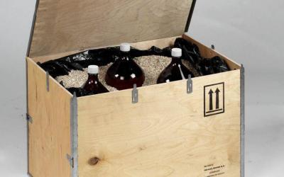 Goedgekeurde kisten voor het verpakken van uw gevaarlijke producten