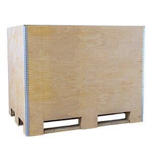 NO-NAIL BOXES - EUROBOX: Wiederverwertbare Kisten für Europaletten