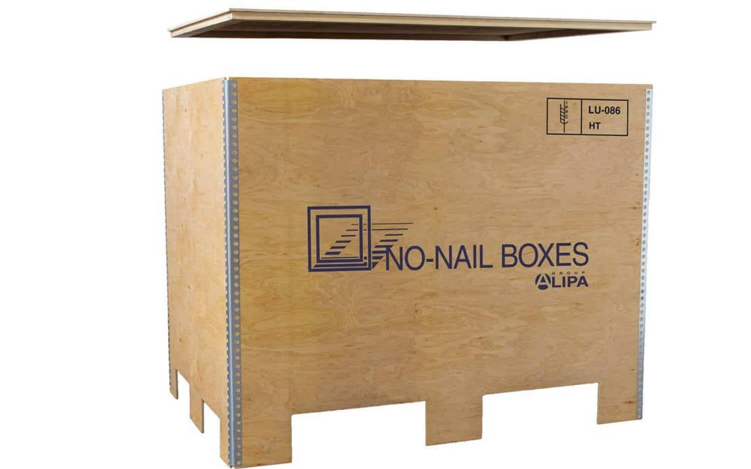 Reuse your Euro-pallets with NO-NAIL BOXES